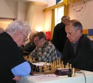 Il GM Miso Cebalo (a destra) contro il GM Vasiukov