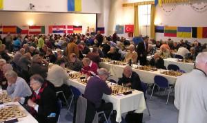 Arco: la sala di gioco del mondiale seniroes