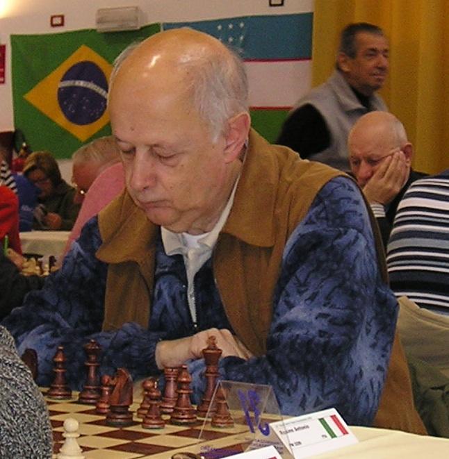 Il MF Antonio Rosino, primo degli italiani