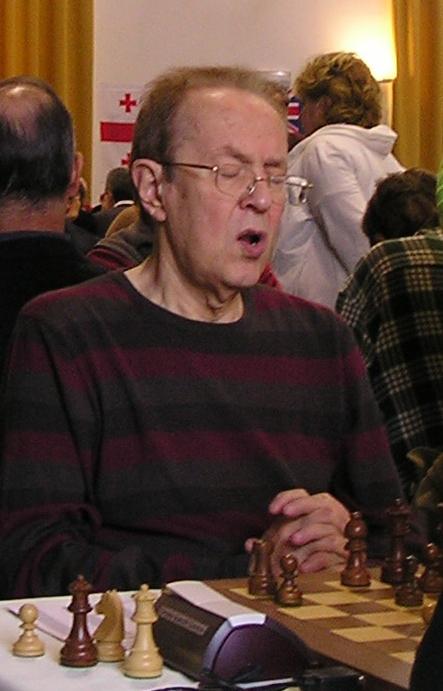 Il GM Vitaly Tseshkovsky, terzo classificato