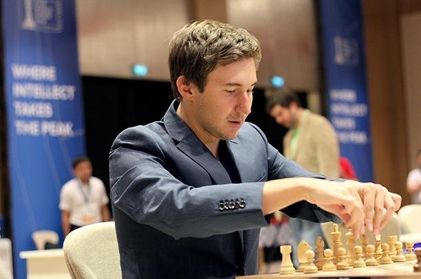 Sergey Karjakin, vincitore della Coppa del mondo 2015