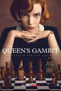 queens gambit poster-fare